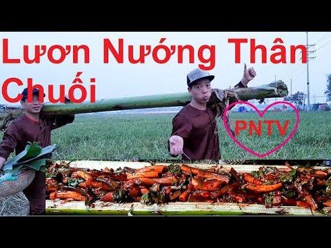 Lươn Nướng Trong Thân Cây Chuối, PHUONG NAM TV, Trang Trại Đà Điểu Phương Nam