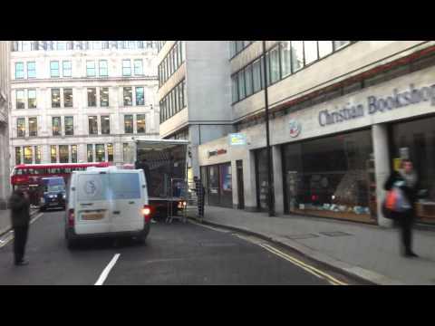London Streets (458.) - Covent Garden - Holborn - St. Paul´s - Bank