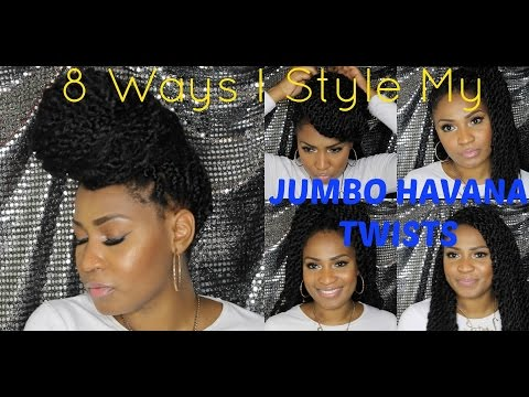 HOW TO: Style Jumbo Havana Twists