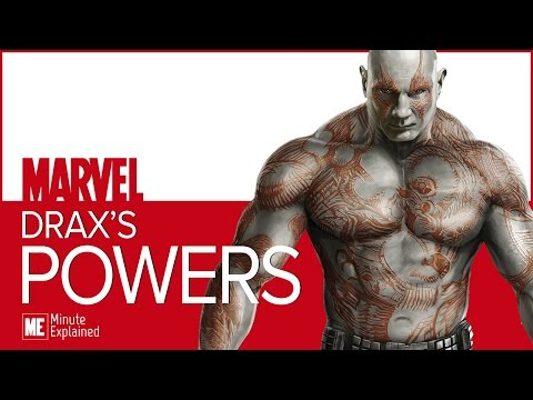 What are DRAX'S Powers? (MCU)