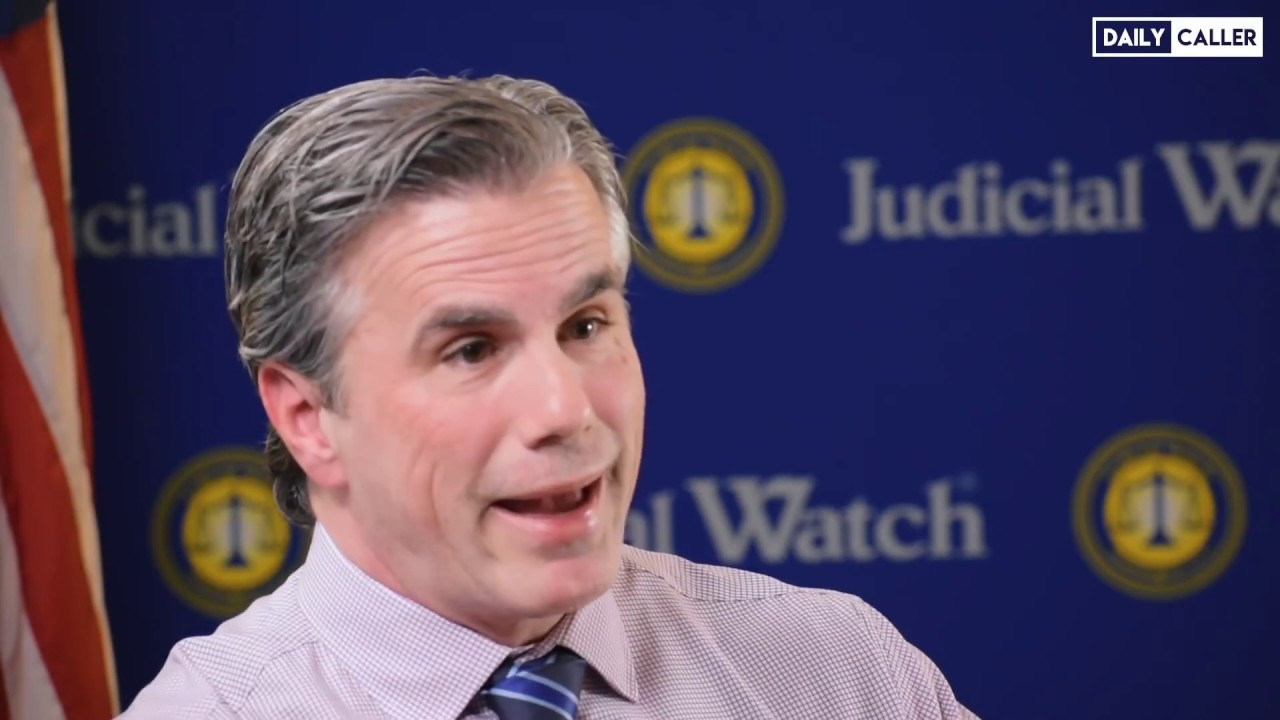 """ICYMI: """"It's a Coup!"""" Tom Fitton Calls out The Deep State on Trump Impeachment Inquir"""