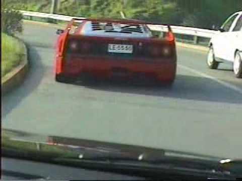 Ferrari F40 vs. Audi RS2