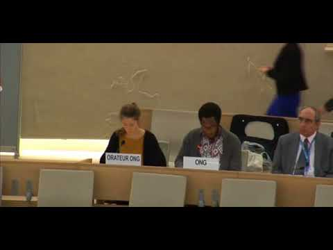 36th Session Human Rights Council - ID: Working Group African Descent - Mr. Mutua K. Kobia