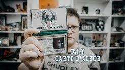 HARRY POTTER DIY CARTE AURORE MACUSA