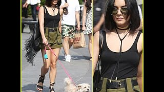 Vanessa Hudgens Has a 'Darla-ing' Day in NYC