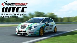 R3E WTCC 2013 SEAT LEON WTCC Gameplay (PC HD)