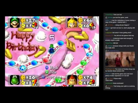 Mario Party 1-1: RIDE OF THE HATEFLOWER
