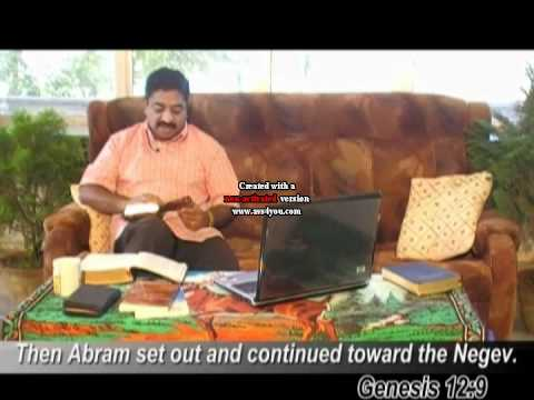 Abram history from Bible - Pr. Dr. Suresh Ramachandran