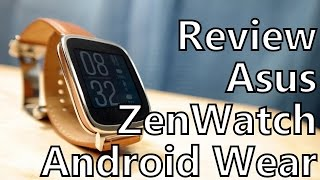 Smartwatch Review: Asus ZenWatch Running Android Wear 5.0 Lollipop