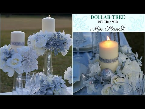 Dollar Tree Gold Glam Wedding Centerpiece For 8 Dollar Tree Diy