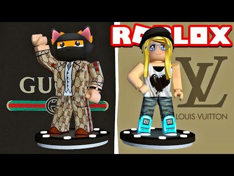GUCCI VS LOUIS VUITTON Outfit?! - Fashion Famous Roblox [Deutsch/HD]