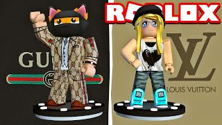 GUCCI VS LOUIS VUITTON Outfit?! - Fashion Famous Roblox [Deutsch/HD]