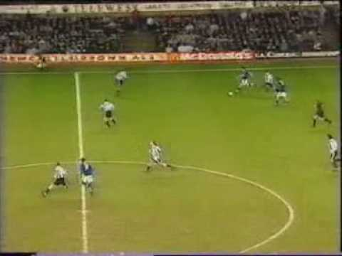 Newcastle United 4 Leicester City 3 Goals. 1997