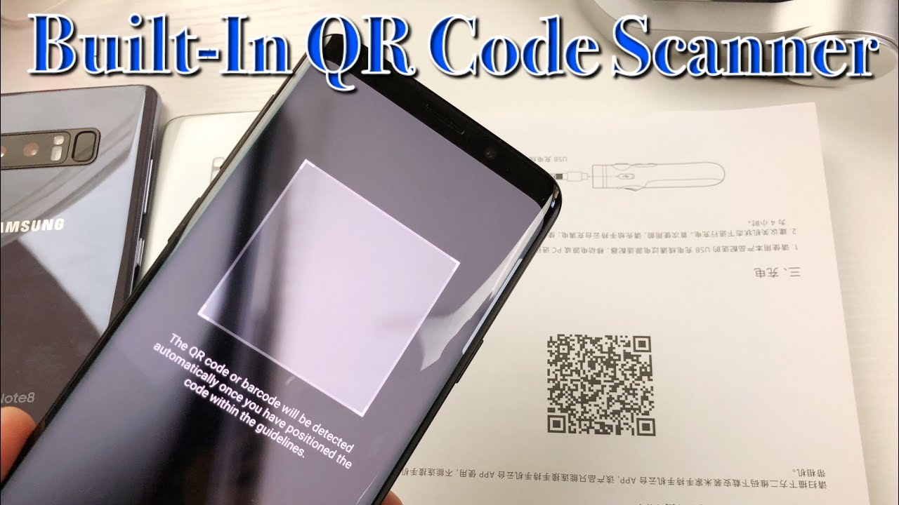 Galaxy S8/S9/Note 8: How to Scan QR Code w/ Built-In Scanner-