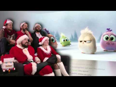The Angry Birds Movie Season's Greetings from the Hatchlings!