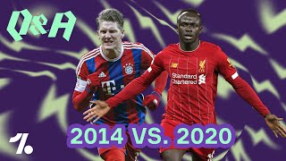 DFB 2014 vs. DFB 2020! Der beste Freistoß-Schütze aller Zeiten? OneFootball Q&A