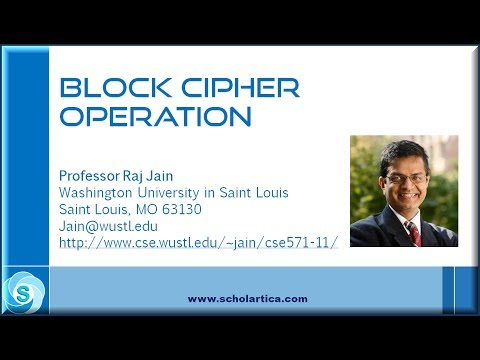 Block Cipher Operation (BCO): Part 1