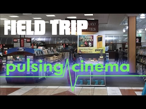Pulsing Cinema Field Trip - Pono Music Player at Fry's Electronics
