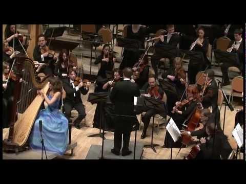 R.Gliere. Concerto for Harp and Orchestra in E flat major
