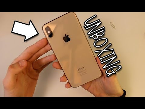 Unboxing di iPhone XS Max Gold da 512GB