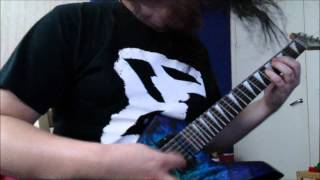 Slipknot - Disasterpiece guitar cover by Nikke Kuki