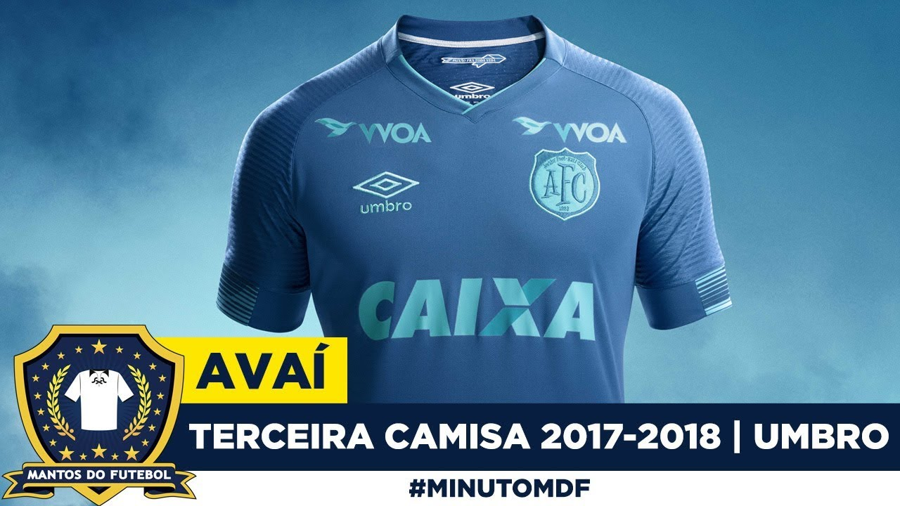42cede09ea065 Terceira camisa do Avaí 2017-2018 Umbro. Mantos do Futebol