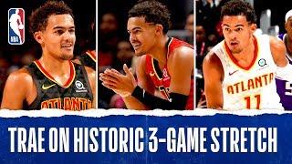 Trae's HISTORIC Last Three Games!