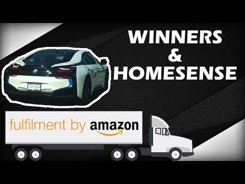 WINNERS & HOMESENSE Amazon FBA Retail Arbitrage