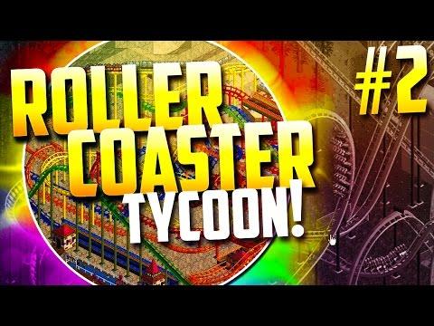 "Roller Coaster Tycoon! - ""THE PURPLE DILDO!!"" (Episode 2)"