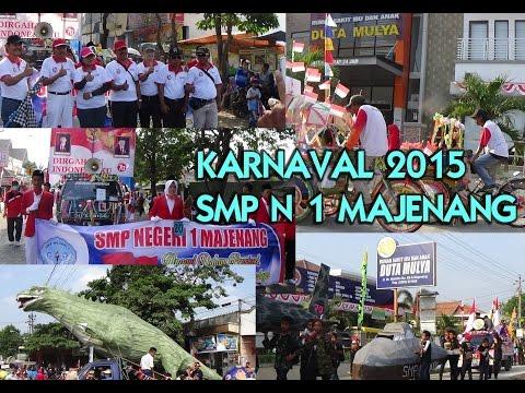 KARNAVAL SMP N 1 MAJENANG 2015