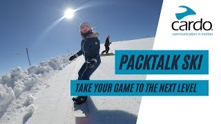 Take your game to the next level with Packtalk Ski | By Cardo Systems