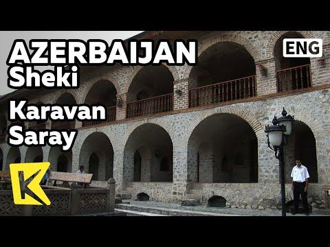 【K】Azerbaijan Travel-Sheki[아제르바이잔 여행-셰키]실크로드 숙소, 카라반사라이/Karavan Saray Hotel/Silkroad/Room/Inn