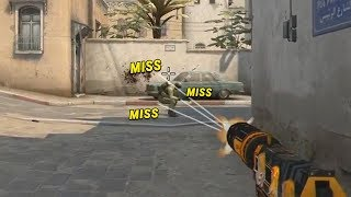 How To Make Pros Miss Their Shots... (CS:GO)