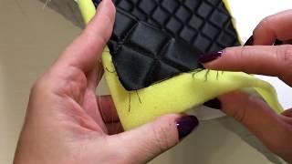 Квилтинг Стежка заготовки для сумки. Стежка на обычной (любой) швейной машинке