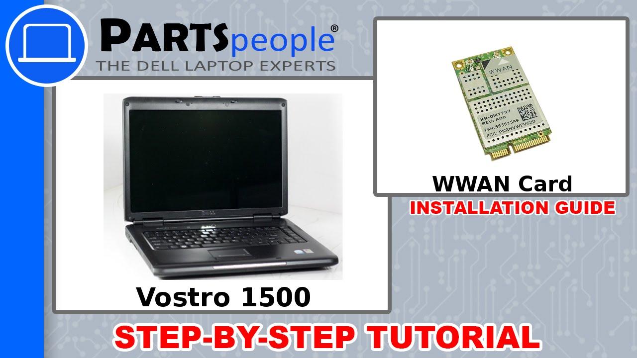 Dell Vostro 1500 WWAN Card Replacement Video Tutorial