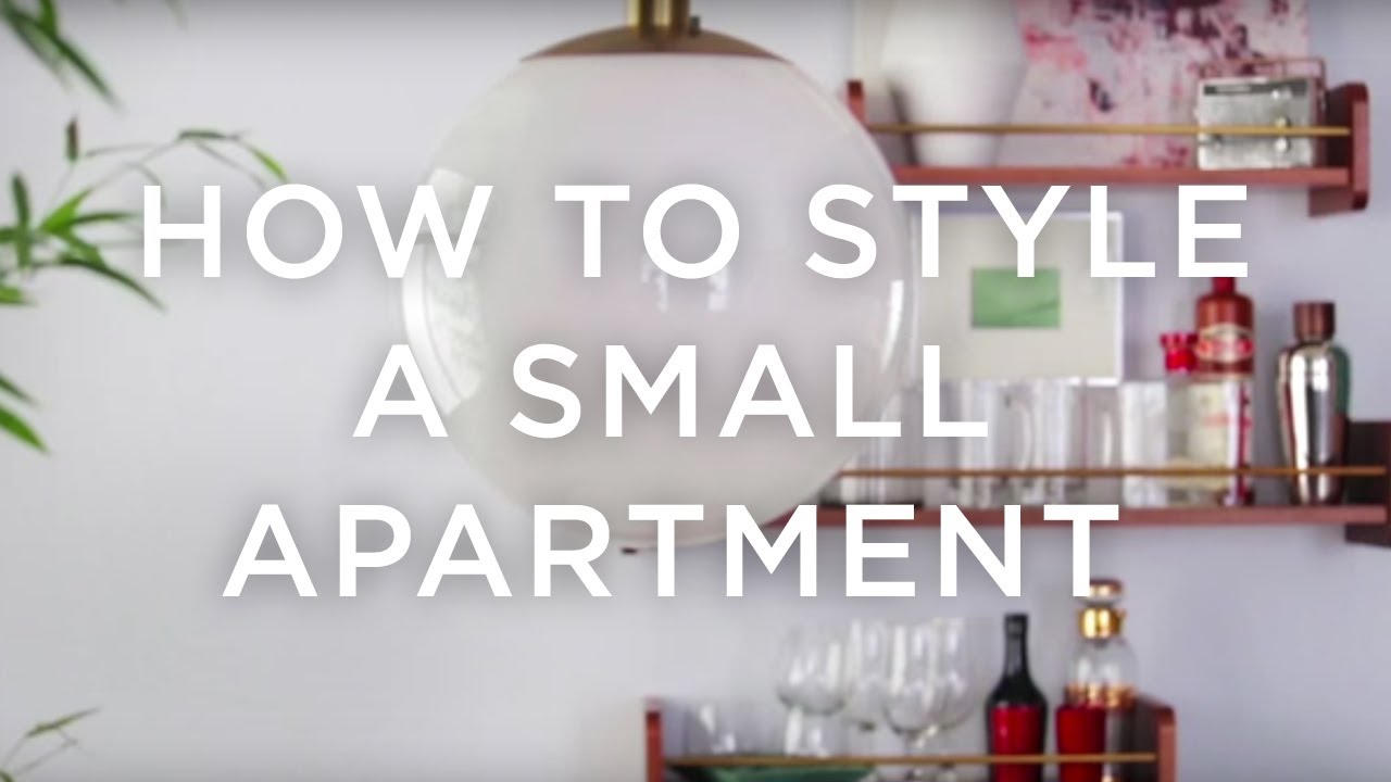 How to decorate a small apartment west elm youtube - Decorate a small apartment ...