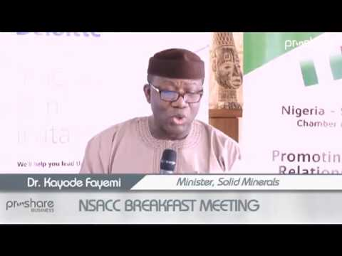 Fayemi outlines strategies for repositioning Nigeria's mining sector