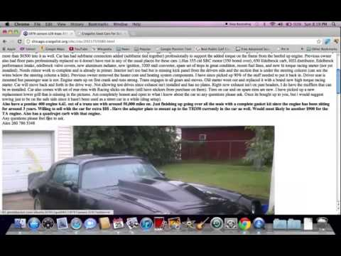 Chicago Craigslist Illinois Used Cars Online Help for ...