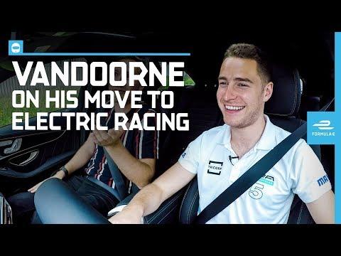 Stoffel Vandoorne Drives The Brand New Mercedes EQC Around Bern | ABB FIA Formula E Championship
