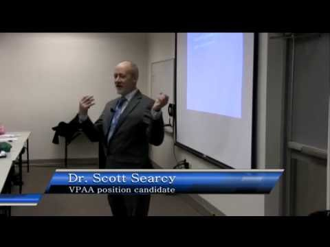 VPAA Candidate: Dr. Scott Searcy