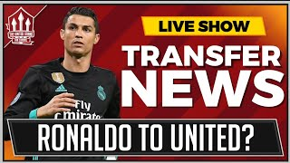 RONALDO To Manchester United? Man Utd Transfer News