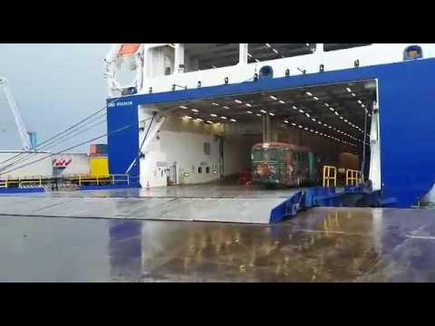Il 4409 sbarca in porto a Catania Venerdi 23/02/2018 dopo 2 giorni di navigazione.