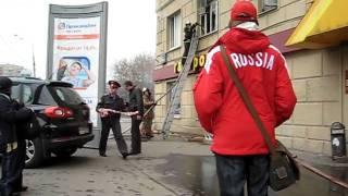 Пожар в доме №62 по Новослободской ул.