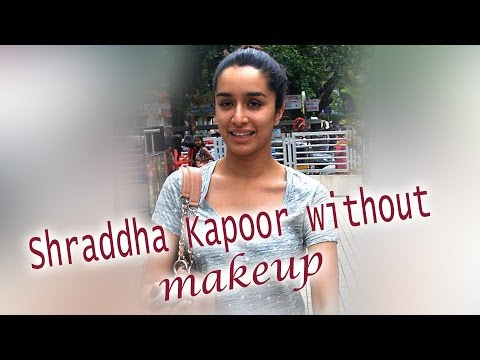 Shraddha Kapoor spotted without makeup – view pics