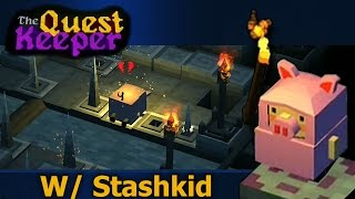 The Quest Keeper: IPad Game Play (StashPlays)
