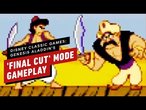 Disney Classic Games: Genesis Aladdin's 'Final Cut' Mode Gameplay (Perfect Playthrough)