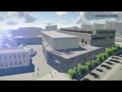 Nordic Steel AS - Prosjekt Nytt Nasjonalmuseum i Oslo