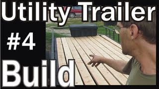 Homemade Utility Trailer Project Build 4