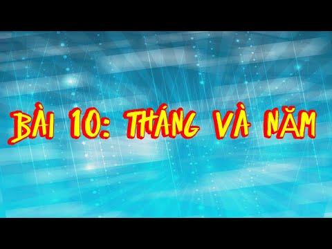 học tiếng lào bài 2 - Chủ Đề Tháng & Năm Trong Tiếng Lào | Bài Học Tiếng Lào | Học Tiếng Lào Cho Người Việt Nam