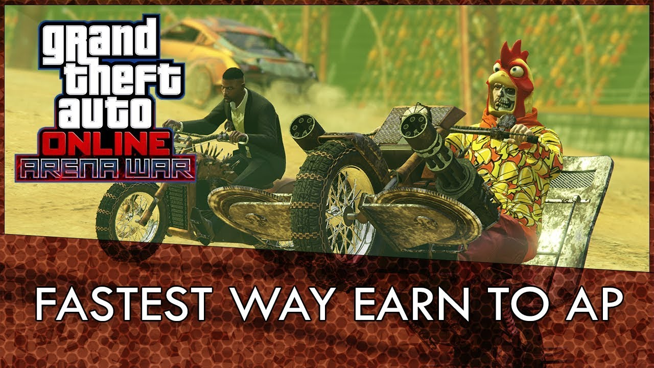 GTA Online Arena War Fastest Way To Earn AP and How Sponsorship Tiers Work!